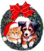 cat-dog-wreath