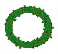 wreath-holly