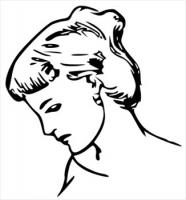 female-profile-drawing