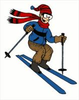 free skiing clipart free clipart graphics  images and free clipart graphics football free clipart graphics sneak peek