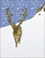 reindeer-on-slope